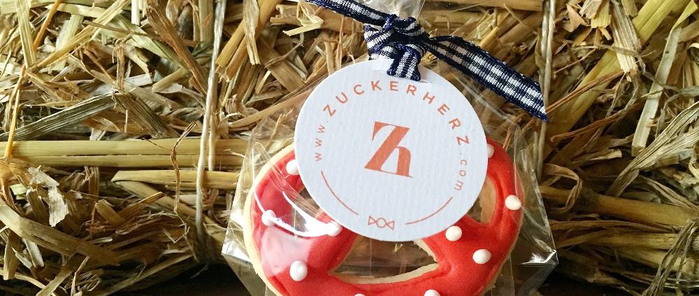 Zuckerherz Giveaway Brezel